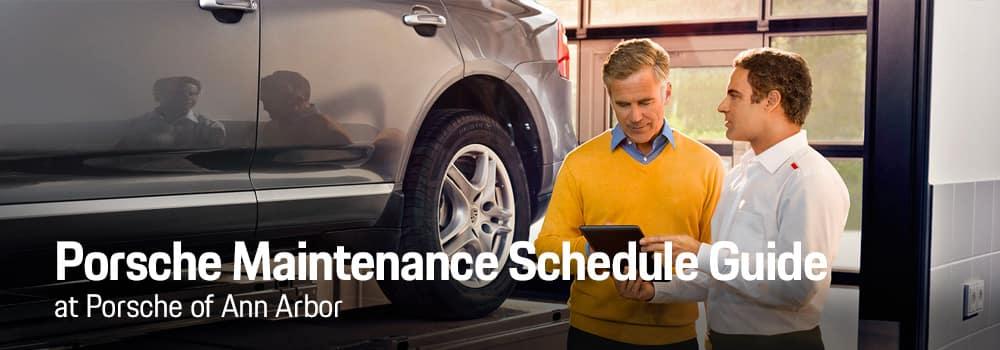 Porsche Scheduled Maintenance Guide Porsche Maintenance Schedule