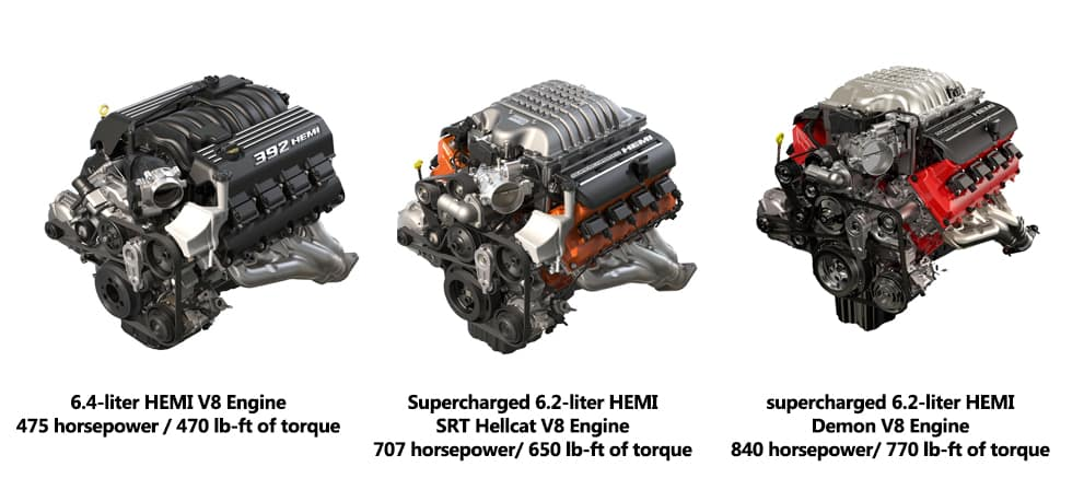 dodge challenger srt8 engine
