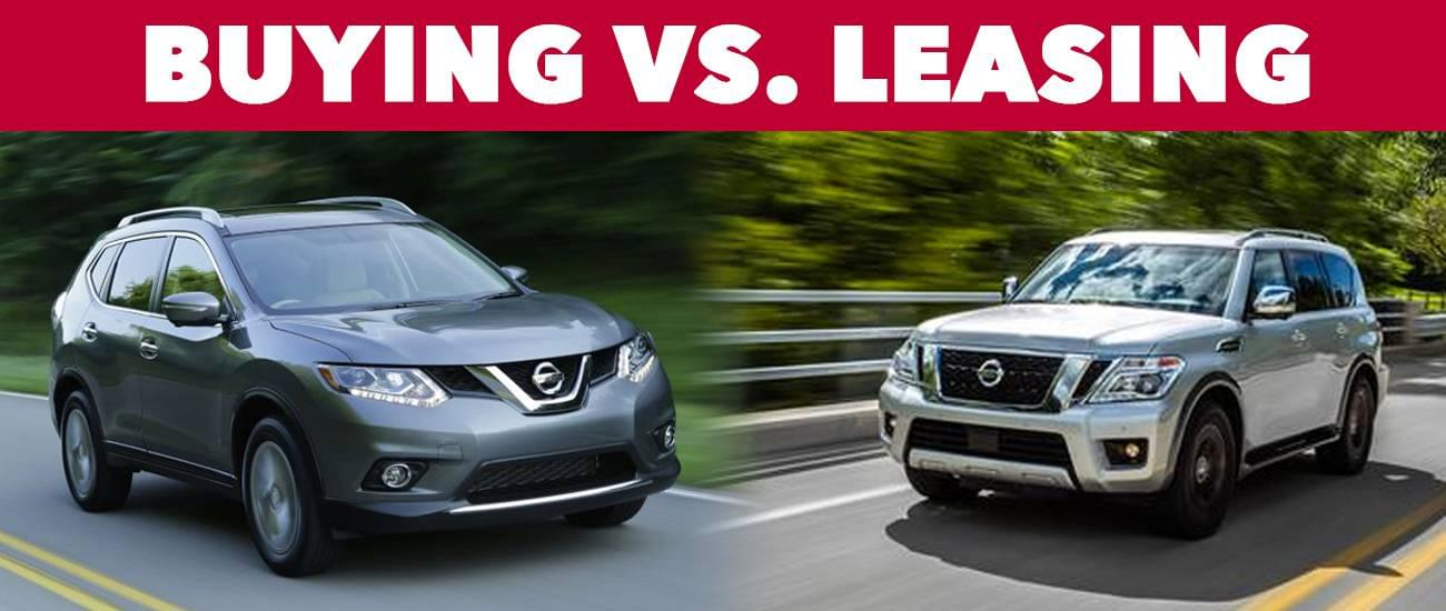 Should You Buy or Lease Your Next Nissan at Olympia Nissan - buy vs lease car