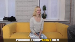 Tricky Agent - Perfect pussy debut