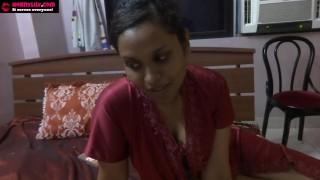 Indian Sex Video Of Amateur Pornstar Babe Lily Sucking A Dildo Masturbating