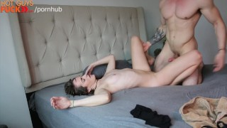 She's Loving The Muscle Cock On This Stud.