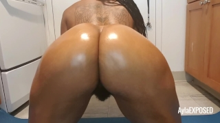 Ayla - Anal Play and Booty Shaking