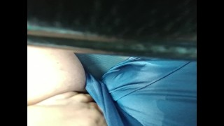 Masturbating in a Parking Lot During Lunch