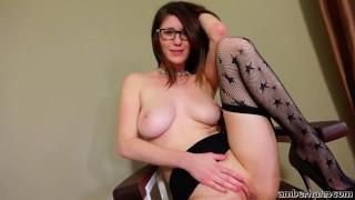 Amber Hahn - Panty Stuffing