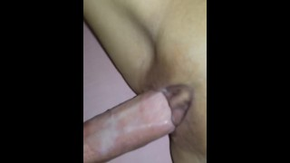 Tiny Asian Titty Fucked with Money Shot and loads of CUMMM