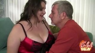 Cock Sucking BBW Joslyn Underwood Stripped