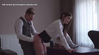 Mistreated during job interview - Little Caprice, Alina Henessy, Marcello