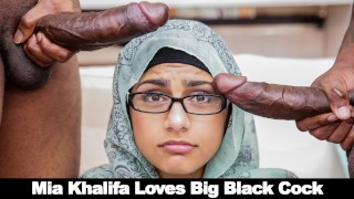BANGBROS - Mia Khalifa Shares Her Hummus With Rico Strong & Charlie Mac