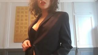 JOI français: dirty talk: baise et jouit avec moi (EN subtitles) - SOLVEIG