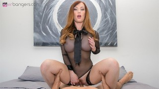 VRBangers.com-Busty boss punishes her employee with her dominating skill VR