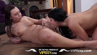 Lesbian Piss Drinking - Morgan and Taissia taste each others golden pee