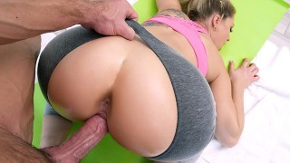 TeamSkeet - PAWG Gets Plowed By Trainer