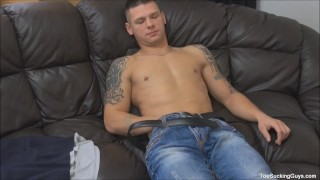 Gorgeous Twink Starts Sucking Toes And Licking
