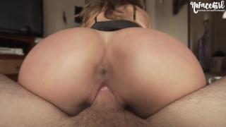 Petite Teen Gets Her Creamy Pussy Fucked Hard - Amateur couple NoFaceGirl