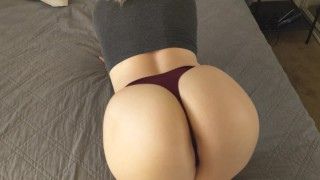 POV with the Blonde Pawg