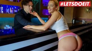 Lucky German Stud Fucks His Fantasy Porn Star At Work