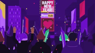 Happy New Year from Pornhub's Dick and Jane