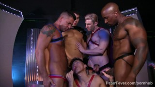 Biggest XXX Superhero Orgy Ever from GAYVENGERS Episode 6