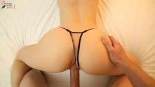 Creampie Through Panties