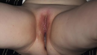 Pump Me Full of Cum - Slut Wife Takes Multiple Creampies