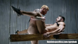 Hot Ginger Bennett Anthony Pummels Latino Stud Seth Santoro's Hole