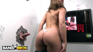 BANGBROS - PAWG Remy LaCroix Gets A Face Load Of Cum At Our Glory Hole