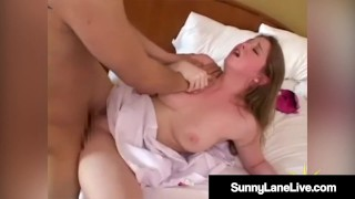 Registered Fuck Nurse Sunny Lane Bangs Asian Cock!