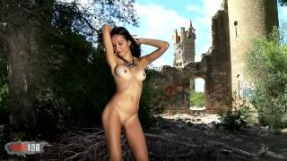 Striptease de la estrella del porno Francys Belle
