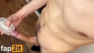 Guy Moaning Dirty Talk Masturbating Big Dick - Intense Shaking Orgasm 4K