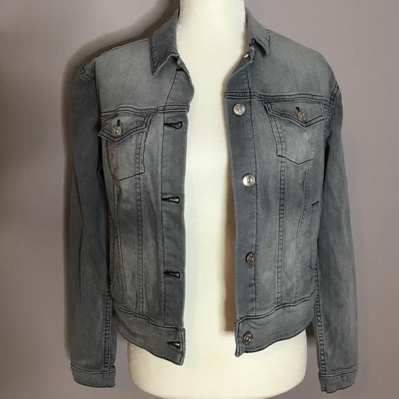 LuLaRoe Jackets  Coats Harvey Jean Jacket Grey Slate Size Small