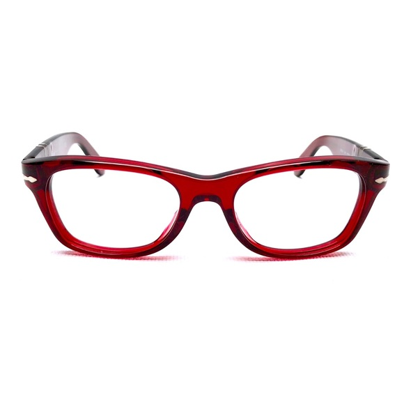 Persol Accessories Translucent Red Eyeglass Frames By Poshmark