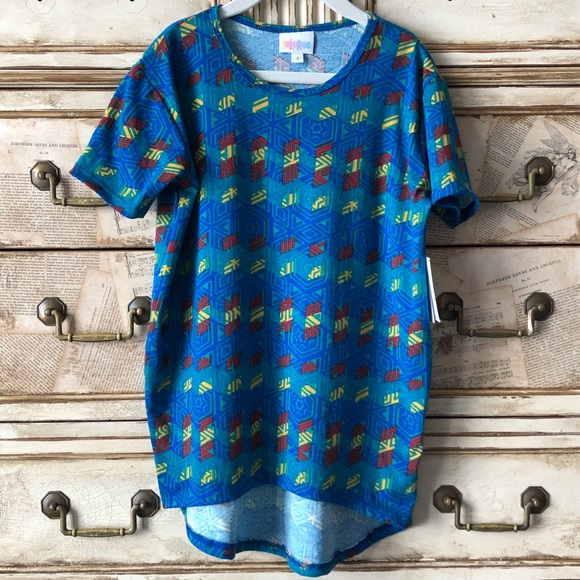 LuLaRoe Shirts  Tops 2 For 30 Vintage Unisex Gracie Tunic Poshmark