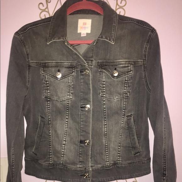 LuLaRoe Jackets  Coats Harvey Jean Jacket Poshmark