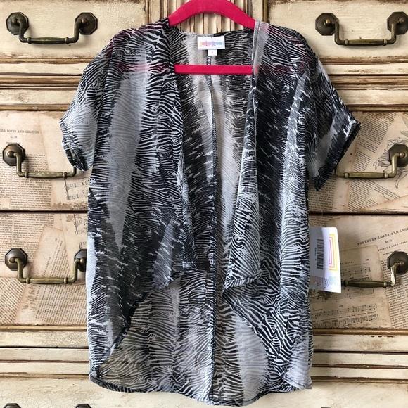 LuLaRoe Shirts  Tops 2 For 30 Llr Size 1 Bianka Kimono Poshmark