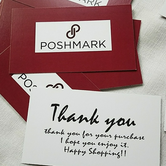 Poshmark Other Thank You Note Cardssellers Poshmark - thank you note