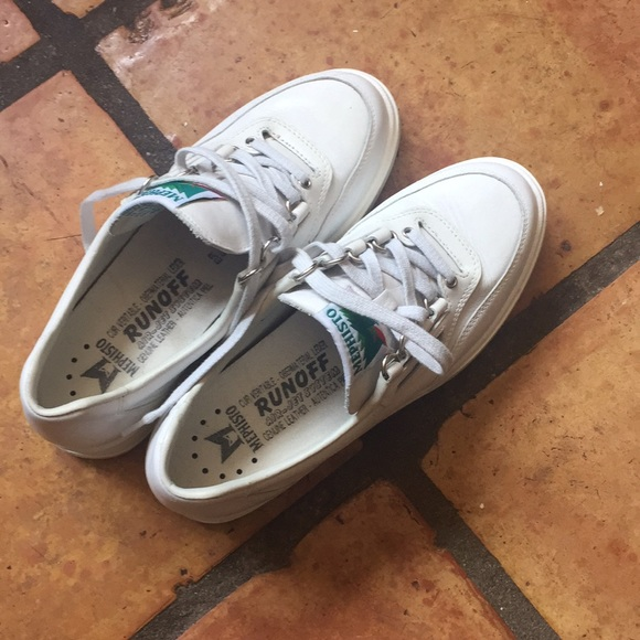 Mephisto Shoes Leather Sneakers Poshmark