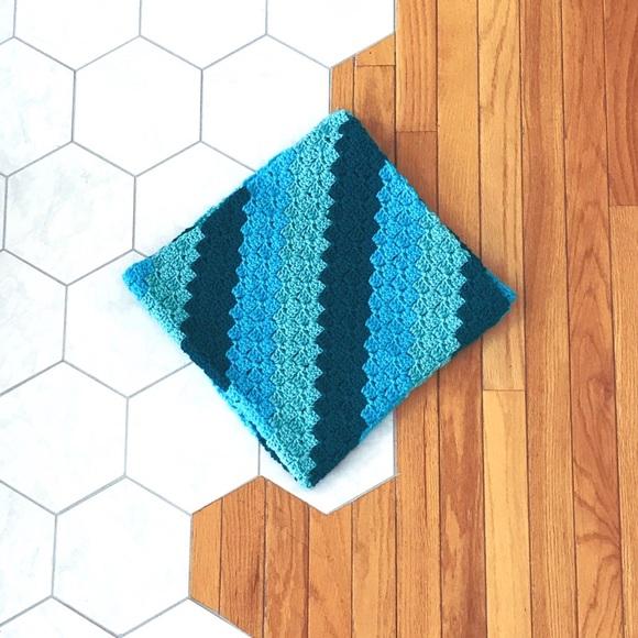 NaomiHa Accessories Blue Gradient Baby Blanket Poshmark
