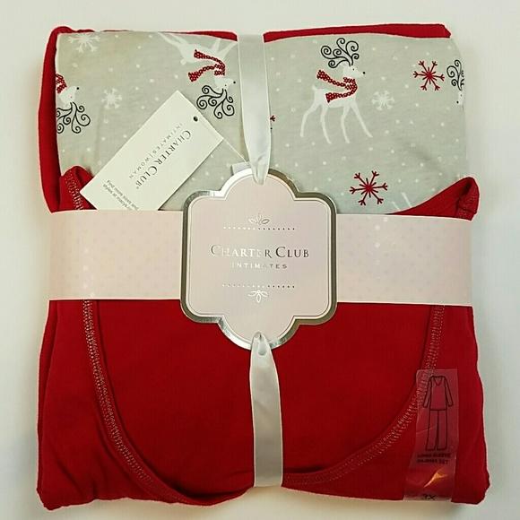 Charter Club Intimates  Sleepwear Intimates Pajamas Set Nwt