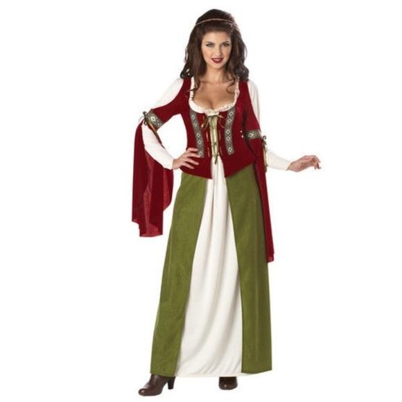 California Costumes Dresses Maid Marian Robin Hood Renaissance
