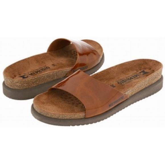 Mephisto Shoes Hanka Na Slide Sandals Euro 40 Us 10 Poshmark