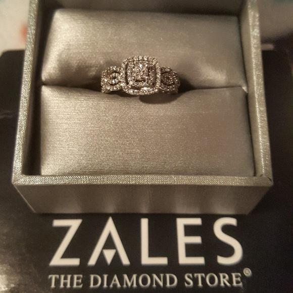 Zales Jewelry Diamond Ring Poshmark