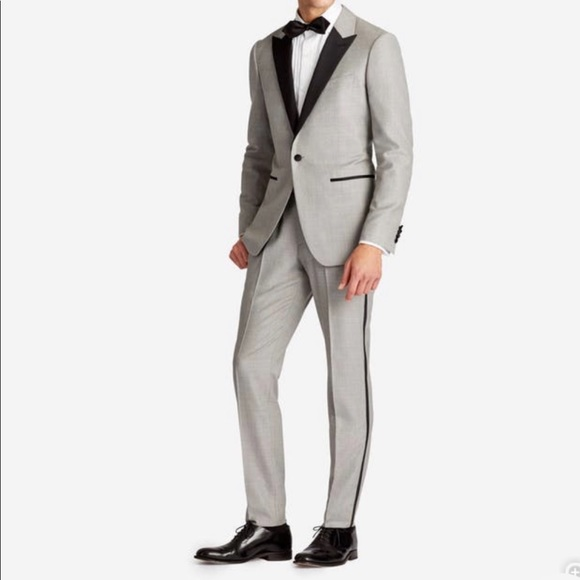 Bonobos Suits  Blazers Size 44l Stretch Tux From Never Worn