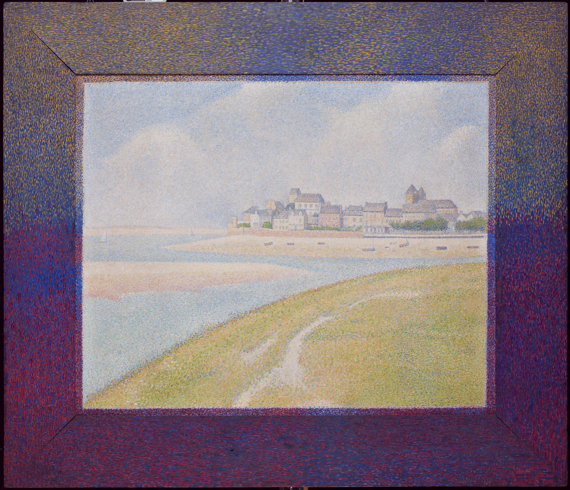 Arte Wayland Ma View Of Le Crotoy From Upstream Detroit Institute Of Arts Museum