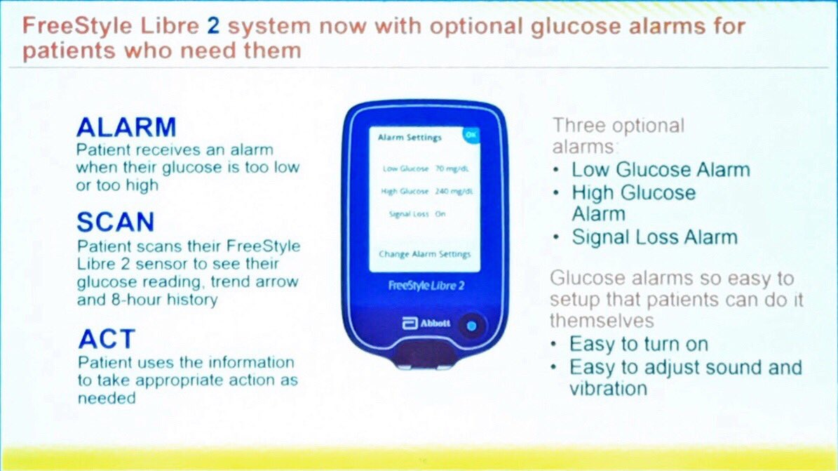 Abbott Freestyle Libre Freestylelibre2 At Easd Diabettech Diabetes And Technology