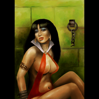 Vampirella, 8×11″, 2016 (Tribute)