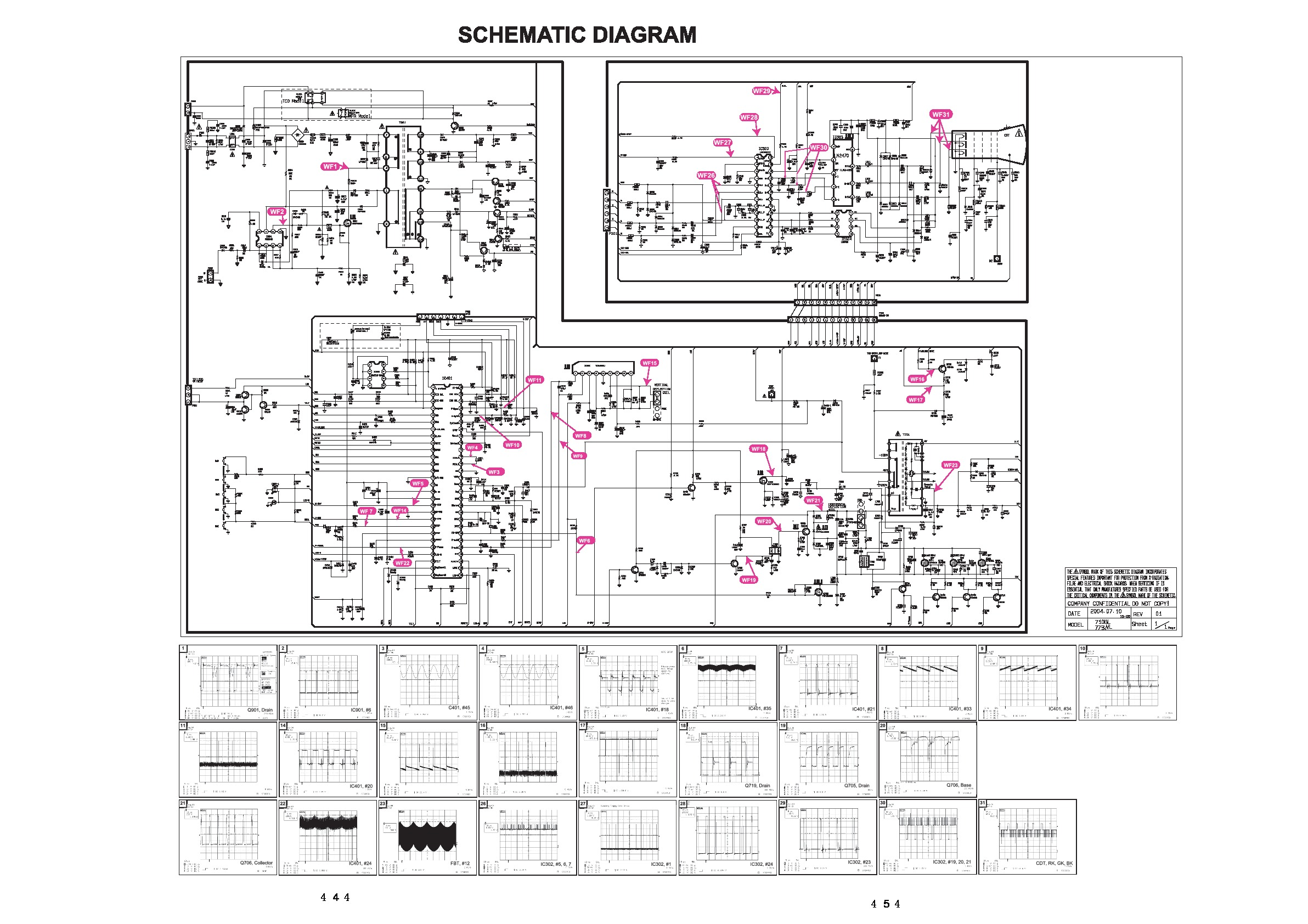 diagrama sharp 14lk14