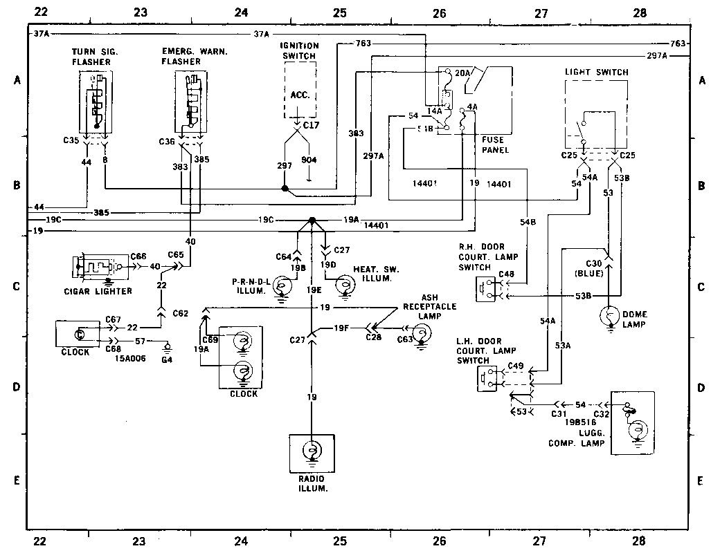 1974 ford maverick wiring diagram