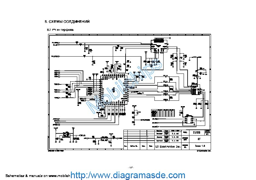 diagrama alcatel one touch