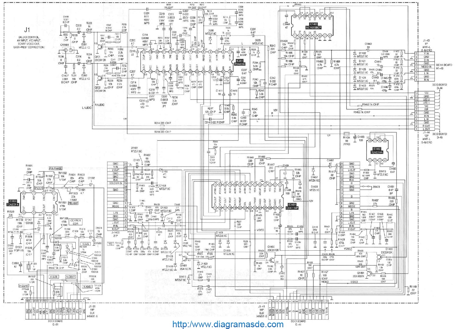 diagrama sony pflp